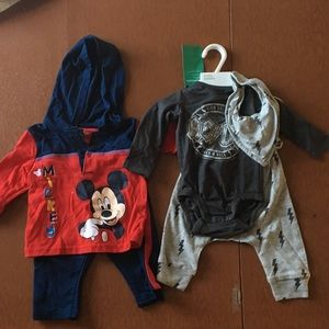 Baby Boy Outfits, AC/DC and Mickey Mouse